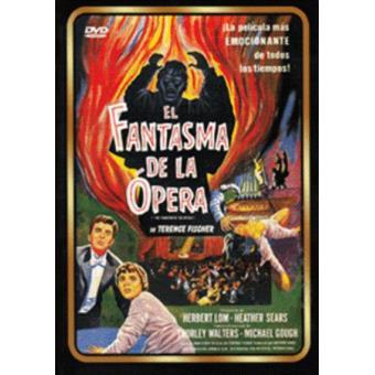 El fantasma de la ópera - DVD
