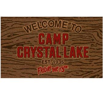 Felpudo Viernes 13 - Welcome to Camp Crystal Lake