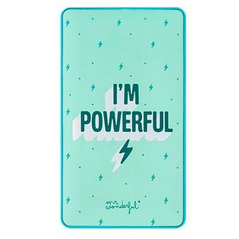 Powerbank Mr Wonderful  - I'm Powerful 6000 mAh