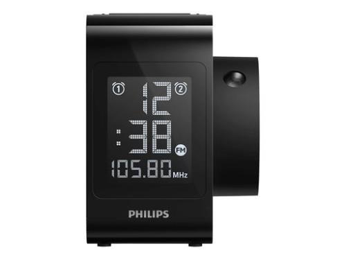 Despertador con proyector Philips AJ4800 Negro
