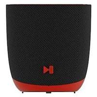 Altavoz Bluetooth Dcybel Halo Negro/Rojo
