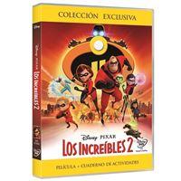 Los Increíbles 2 - DVD + Cuaderno de actividades - Exclusiva Fnac