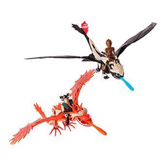 Dragones de Berk Dragón con armadura Bizak - Varios modelos