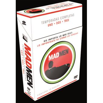 Mad MenPack Mad Men (Temporadas 1 a 3) - Exclusiva Fnac - DVD