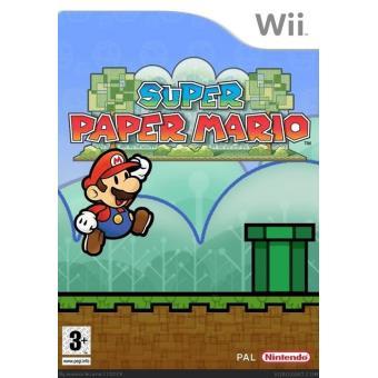 Super Paper Mario Nintendo Wii