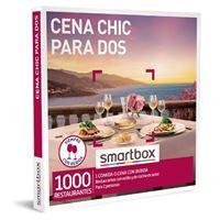 Caja regalo Smartbox Cena chic para dos