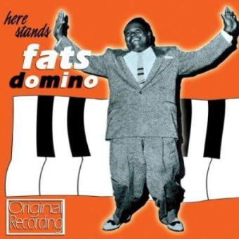Here stands... Fats Domino