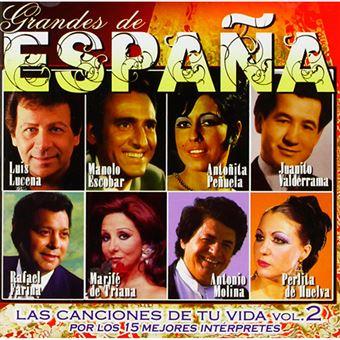 Grandes de España - Las Canciones de tu Vida Vol 2