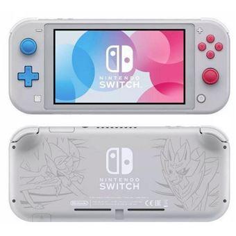 Consola Nintendo Switch Lite - Ed. Limitada Zacian y Zamazenta