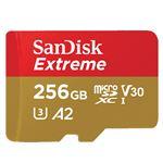 Tarjeta MicroSD Sandisk Extreme 256GB UHS-I