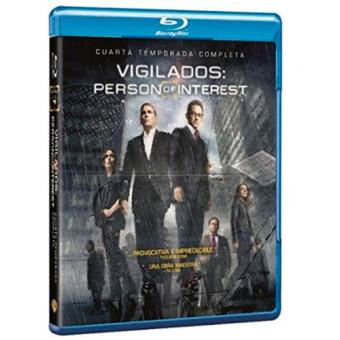 Vigilados: Person of Interest - Temporada 4 - Blu-Ray