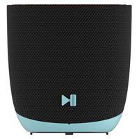 Altavoz Bluetooth Dcybel Halo Negro/Azul