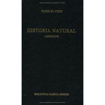 250. historia natural. libros iii -