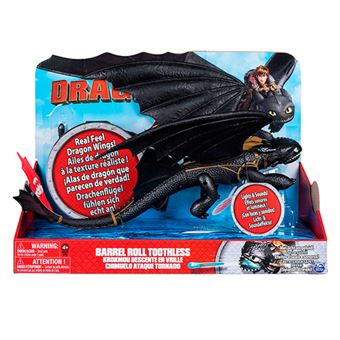 Dragones de Berk Dragón Desdentado girador Bizak