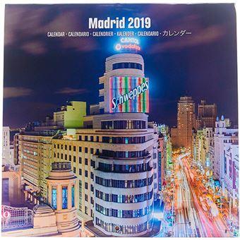 Calendario 2019 Madrid