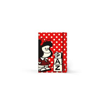 Libreta tapa dura mediana - Mafalda
