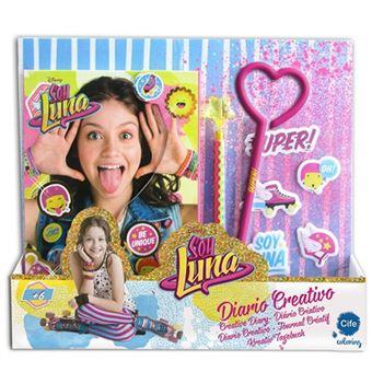 Soy Luna. Diario creativo con Display