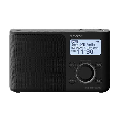 Radio portátil Sony XDR-S61DB FM DAB Negro