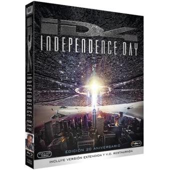 Independence Day  Ed 20 Aniversario - Blu-Ray