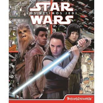 Busca y encuentra Star Wars Episodio VIII Los últimos Jedi