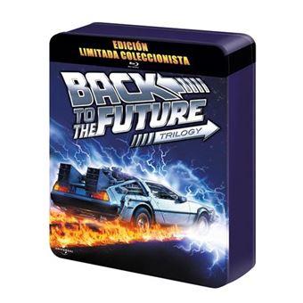 Pack Regreso Al Futuro 1-3 - Steelbook Blu-Ray  Ed Limitada coleccionista