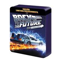 Pack Regreso Al Futuro 1-3 - Steelbook Blu-Ray - Ed Limitada coleccionista