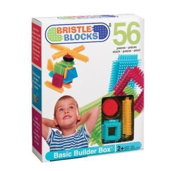 Bristle Blocks - Juego de bloques para bebé 56 piezas
