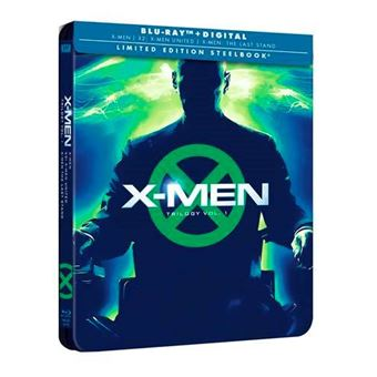X-Men La Trilogía Original - Steelbook Blu-Ray