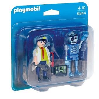 Playmobil duopack Científico y Robot