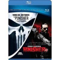 The Punisher - El Castigador + The Punisher 2: Zona de guerra - Blu-Ray