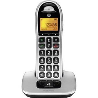 Teléfono inalámbrico Motorola Senior CD301 Gris Dect