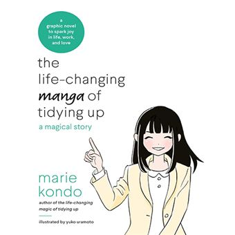 The Life Changing Manga of Tidying Up - A Magical History