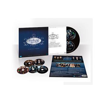Pack Saga Crepúsculo - Ed Limitada Vinilo- Blu-Ray