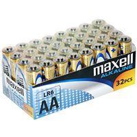 Pack de 32 pilas AA Maxell LR06