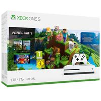 Consola XBox One S 1TB + Minecraft Creator