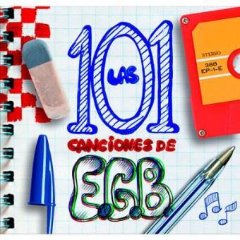 Las 101 canciones de EGB (Ed. Box Set 5 CD + DVD)
