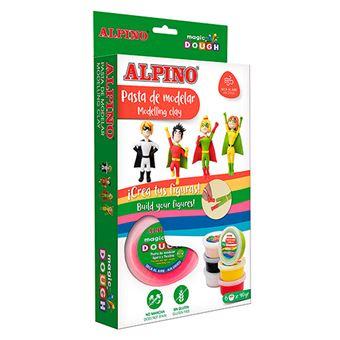 Pasta para modelar Alpino Magic Dough Superhéroes