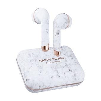 Auriculares Bluetooth Happy Plugs Air 1 Plus Earbud True Wireless Mármol