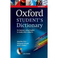 Oxford Student'S Dictionary 3E: For Learners Using English to Study Other Subjects + CD