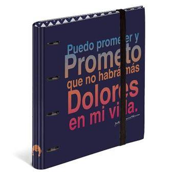 Carpeta anillas recambio Dolores Promesas