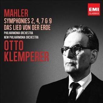 Symphonies 2, 4, 7 & 9, Lied von der Erde (Box Set)
