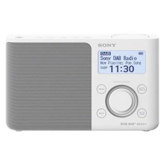 Radio Portátil Sony XDR-S61DW FM DAB+ Blanco
