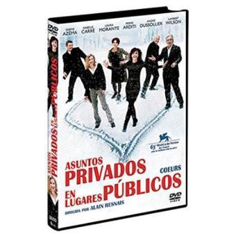Asuntos privados en lugares públicos - DVD