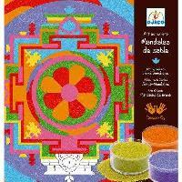 Arenas de colores. Mandalas tibetanas