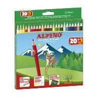 Lápices Alpino 20 + 4 gratis
