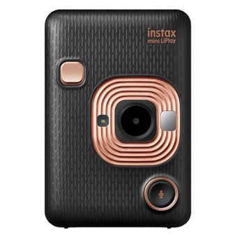 Cámara instantánea Fujifilm Instax Mini LiPlay Negro