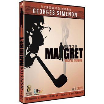 Pack Comisario Maigret 1 - 3 DVD