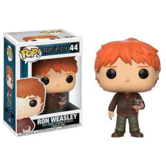 Figura Harry Potter Ron Weasley con Scabbers 10 cm
