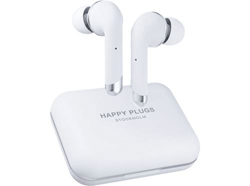 Auriculares Bluetooth Happy Plugs Air 1 Plus In-Ear Blanco