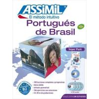 Portugués de Brasil super pack + 4 CDs